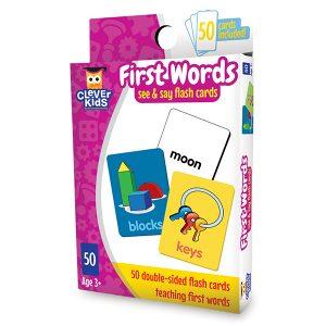Akıllı Çocuk Serisi / İlk Kelimelerim / Hafıza Kartları (50 Parça)