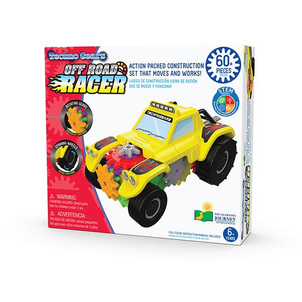 STEM Serisi / Çarklarla Off Road Yarış Arabası (60 Parça )