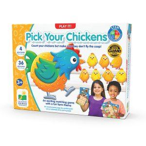 Pick Your Chickens – Tavuklar Kümeste
