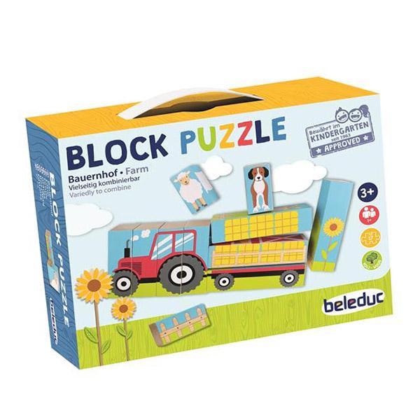 Ahşap Blok Puzzle / Çiftlik